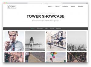 tower-simple-wordpress-portfolio-theme
